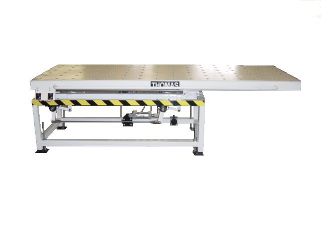 Optional Side Shifting Top with Pneumatic Brake